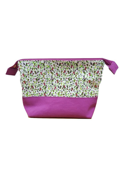 Trousse Lady Green Coton Bio