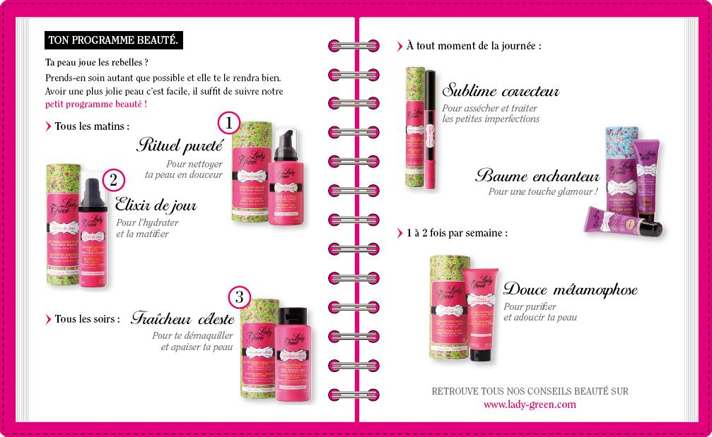 programme beauté cosmétiques bio